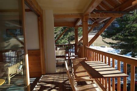 Studio balcon plein sud - Arvieux - Daire