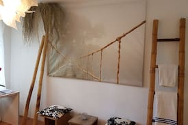 Picture of DESIGNER`s flat with garden