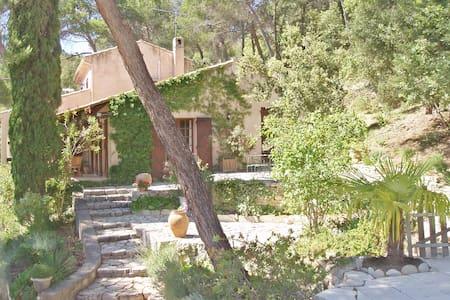 maison en Provence, piscine , clim. - Pierrevert - Haus