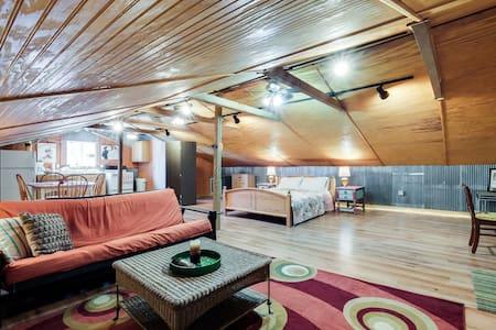 Cozy Lockeland Springs Private Loft - Nashville