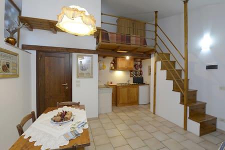 Camera con angolo cucina - Madonna dei Tre Fiumi