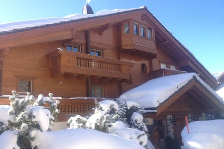 Luxury Apartment in the center of Crans (6 guests) - Appartement