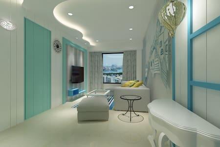 玉宿高鐵會館808新館、左營高鐵捷運旁、景觀房、墾丁快線、房3D示意 - 左營區 - Wohnung