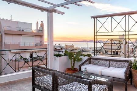 Lovely penthouse near the beach