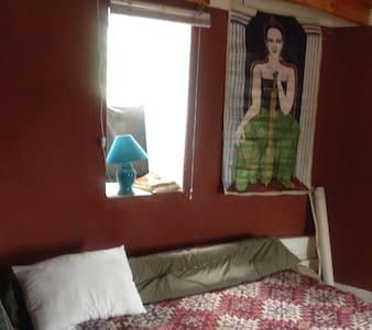 habitaciones con balcón en casa de montaña - Casa