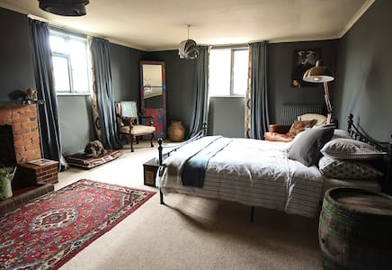The Culm Valley Inn, King Size Bedroom no.1 - Bed & Breakfast