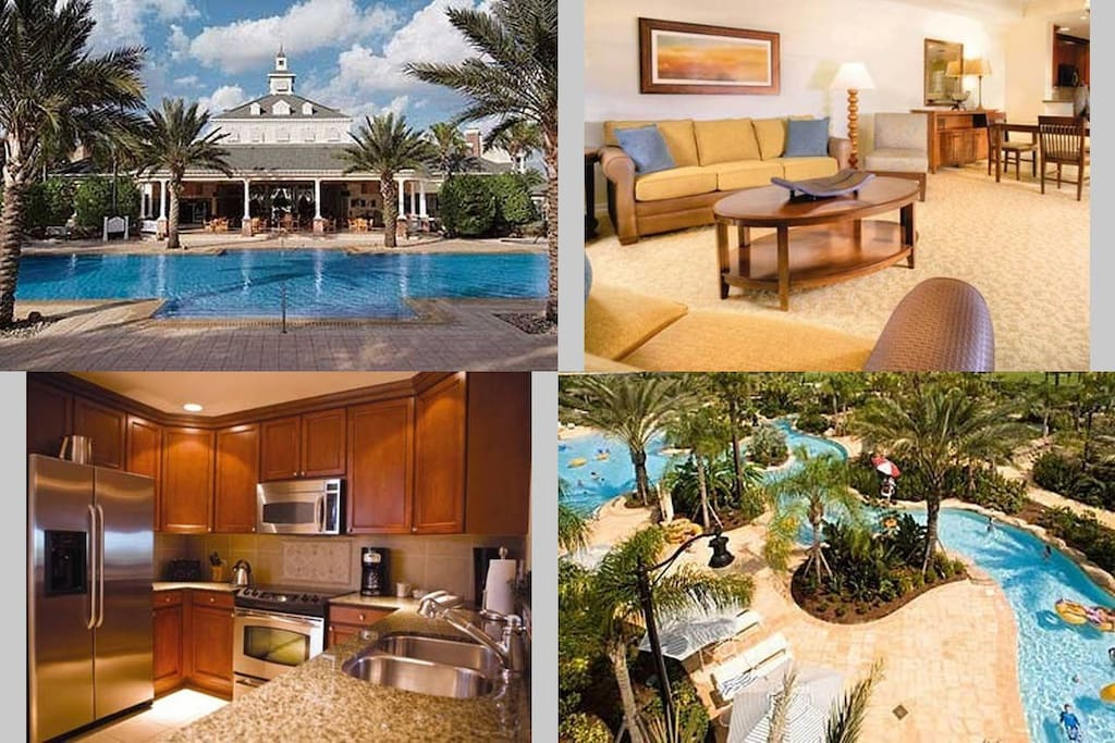 3 Bedroom Deluxe Wyndham Orlando Reunion Apartments For Rent In Reunion Worldmark Orlando Reunion