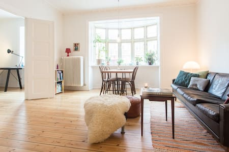 Big apartment in vibrant Nørrebro