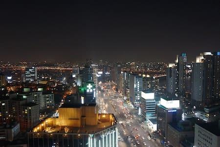 Penthouse View! COEX Cheongdam Stn - Gangnam-gu - Apartment
