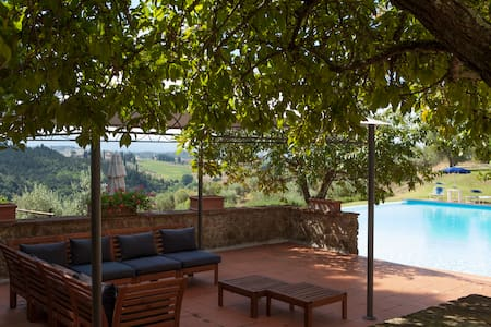 Tuscanstyle apartment inside nature - Barberino Val D'Elsa