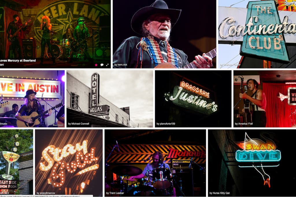 Some of my favorite spots to see live music.