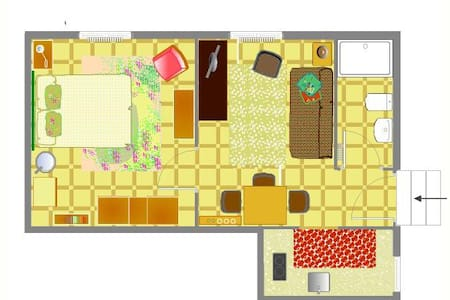 Apartment, private Parking and Wifi - Apartment