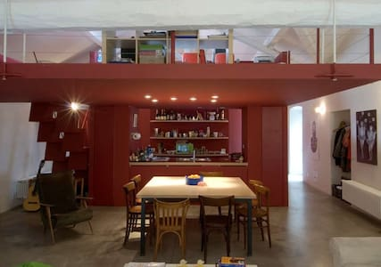 Cozy loft in Lago Maggiore - Lesa - Loft