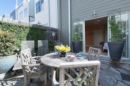 Modern private garden apartment & Glen Park BART! - San Francisco - House