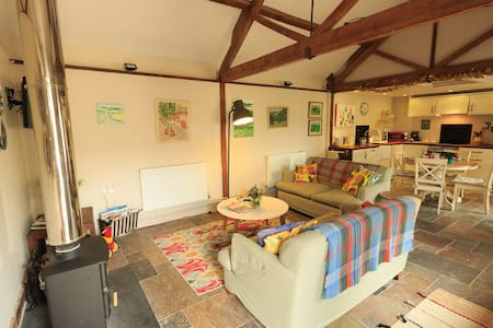 Rural cottage on farm, child friendly in Somerset - Brompton Ralph - Dom