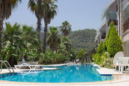 2BD duplex in Kemer 200m to the sea - Kemer - Apartment