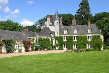 Chambre dans un château de famille - La Jaille-Yvon - Castello