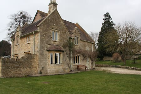 Delightful former Cotswold Rectory - Cotswolds District, - House