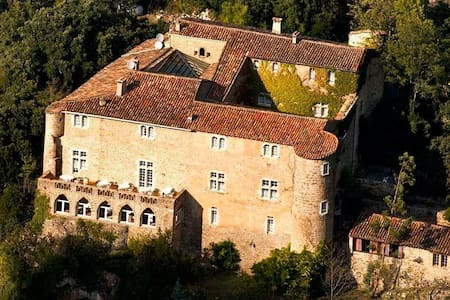 UNESCO World Heritage site, the Château de Madières is located in the magnificent park of the Cevennes. 5 Luxury Suites and Luxury, 7 bedrooms Deluxe + 26 pax. Screw soon ranked 1st wild river in France, along 4 Hec. Park.