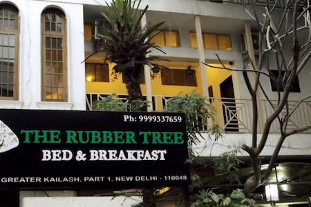 2 rooms B&B in GK1, very green - Neu-Delhi