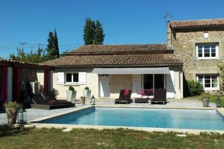 Belle villa avec piscine 8pers - La Roche-de-Glun
