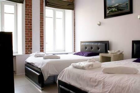 Petrovka Loft Big Twin Room - Moskva - Lägenhet