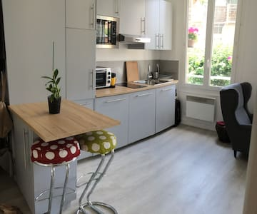 Bright and quiet studio in the west side of Paris - Boulogne-Billancourt