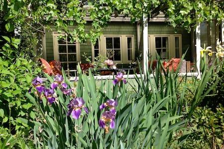 European-style garden apartment