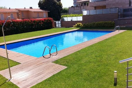 APTO a 20m mar, piscina, para 4p - Calella - Appartement