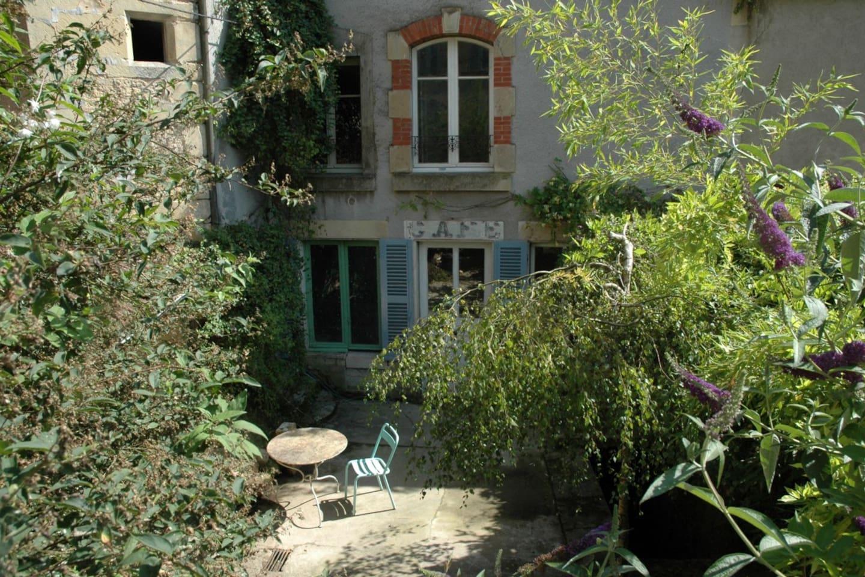 Enclosed South-west garden