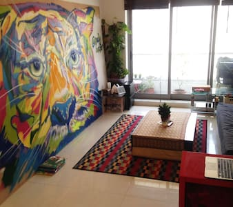 Spacious Central Art-Studio 1-bed Apartment - Dubai - Apartment