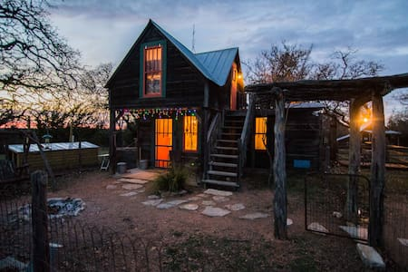 Small Eclectic Cabin - 10 acres