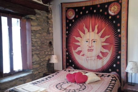 Dependance di antica casa in pietra in Val di Susa - Meana di Susa - Bed & Breakfast