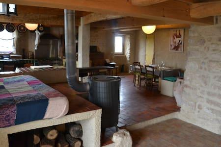Duplex 200m2 dans corps de ferme - House