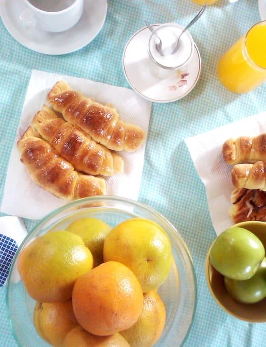 Desayuno en Mendoza