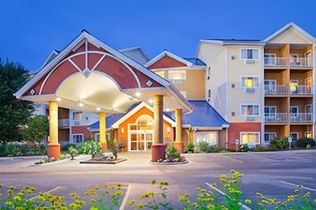 Wisconsin Dells Mt. Olympus 2 Bedroom, 2 Bath - Ortak mülk