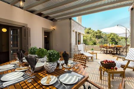 Stunning Eco stay Villa in Epidavros - Villa