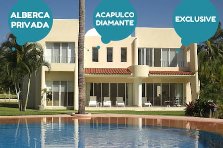 Acapulco DIAMANTE Villa, Great Locn - House