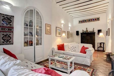 Individual apartments in a charming town house. - Jimena de la Frontera