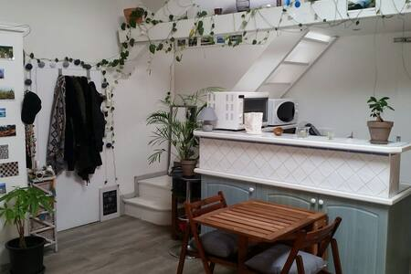 Studio mansardé hyper centre - Apartment