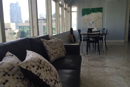 Fantastic Makati CBD private roomAwesome location - Wohnung