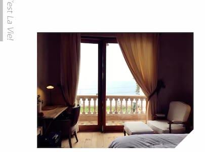 澄江抚仙湖元尘度假酒店海景房F - 澄江 - Bed & Breakfast