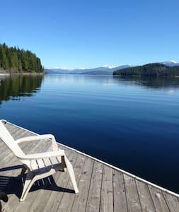 Classic Priest Lake Cabin - Ház