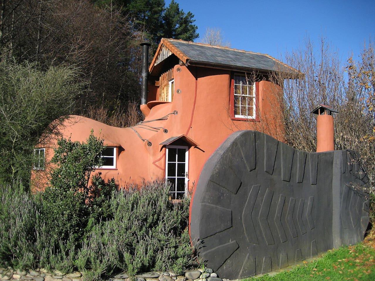 дом ботинок