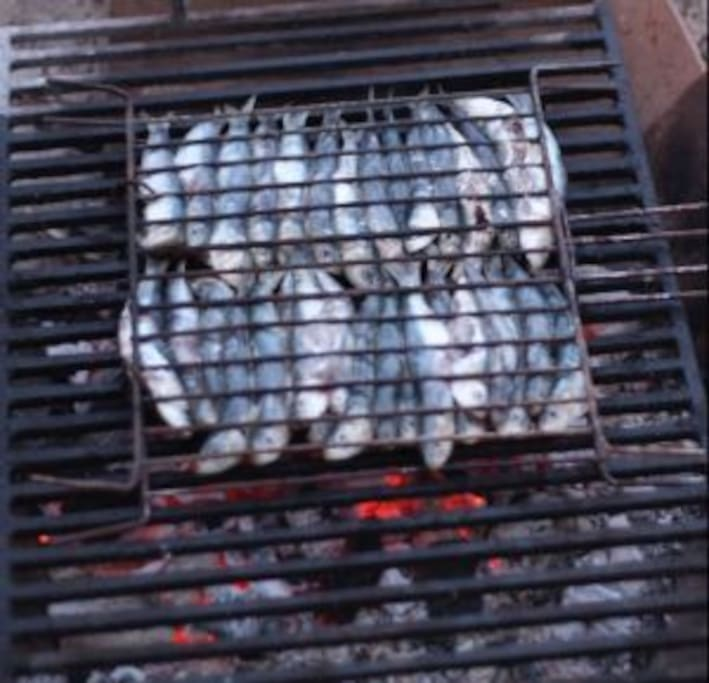 Buy fish from the port and bbq them on the terrace