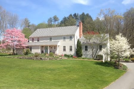 Wonderful Colonial in historic Sudbury MA - Sudbury - Haus