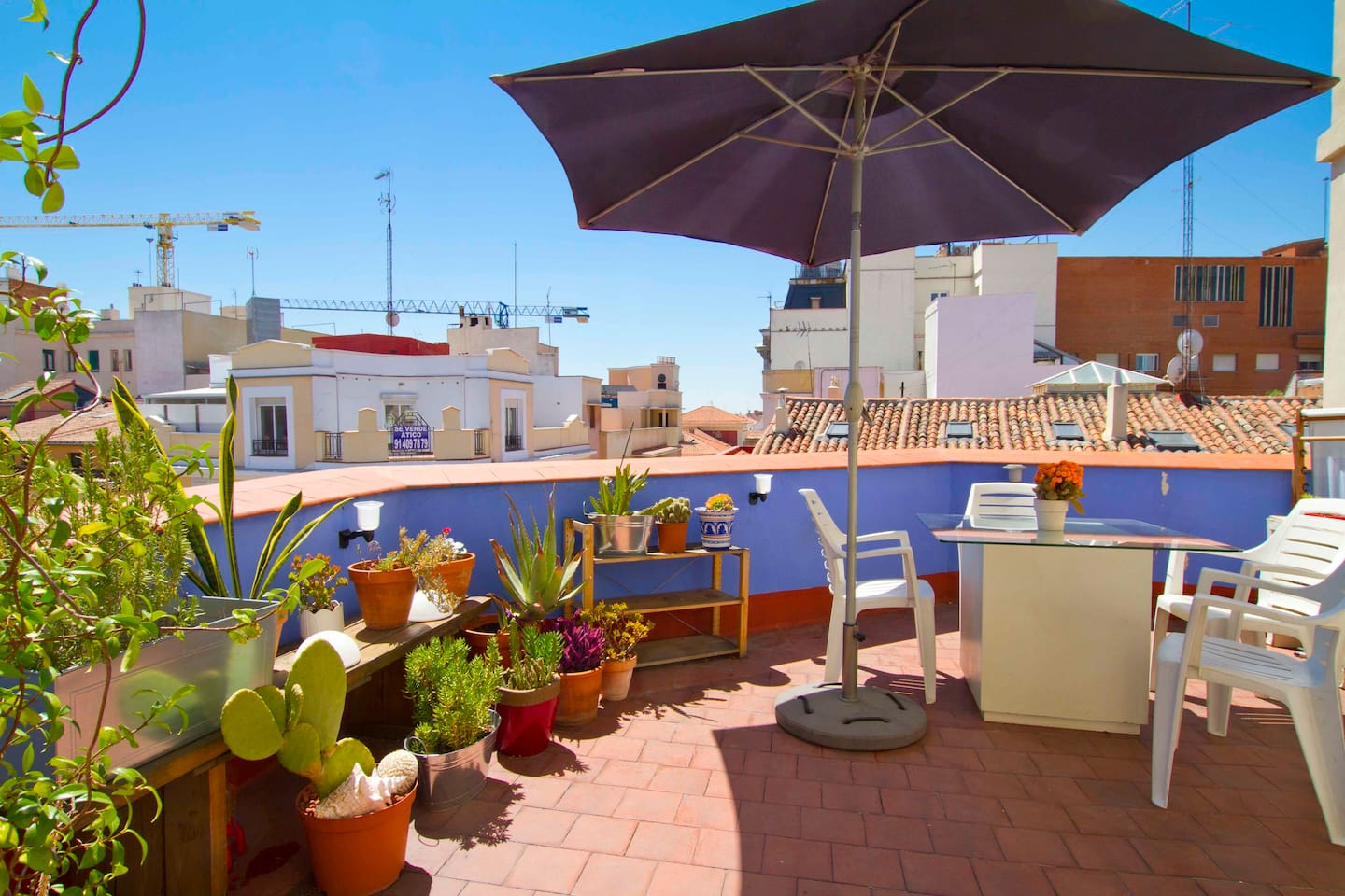 Private Room with Terrace Top Floor