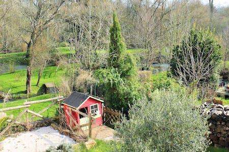 Un moulin au coeur de la nature - Sainte-Néomaye - Huis