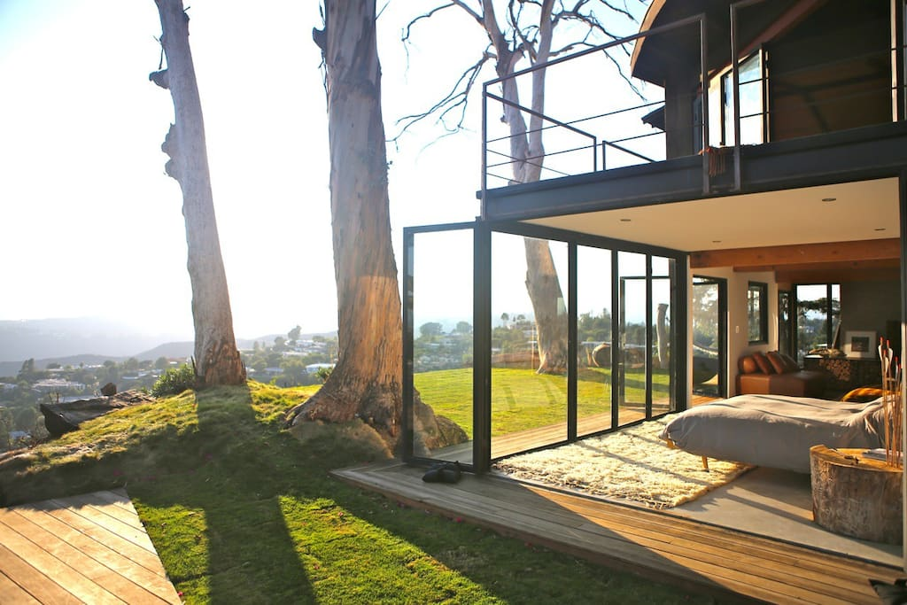 tree house with 360 views of l a houses for rent in los