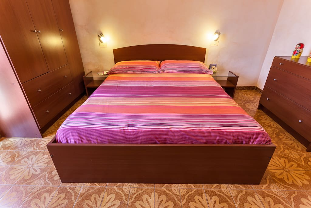 Room Marte: 2 or 4 beds, a private bathroom and a balcony